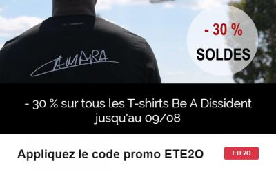 Soldes T-shirt Judicaël Cancoriet
